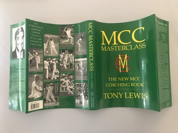 tony lewis mcc masterclass signed first edition5