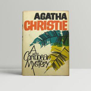 agatha christie a caribbean mystery first ed1 1
