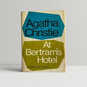 agatha christie at bertrams hotel first ed1