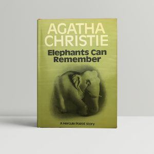 agatha christie elephants can remember first ed1 1