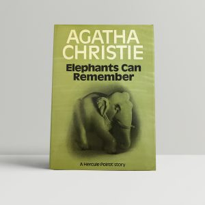 agatha christie elephants can remember first ed 75 1