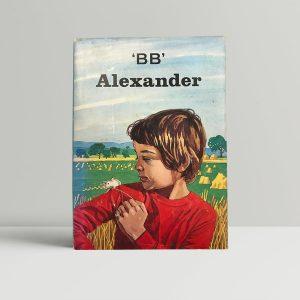 bb alexander first edition1