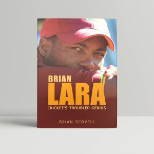 brian scovell brian lara signed first edition1
