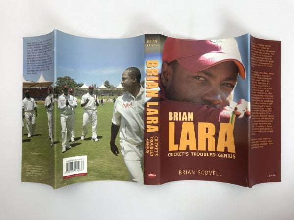 brian scovell brian lara signed first edition5