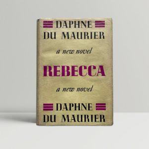 daphne du maurier rebecca first ed1