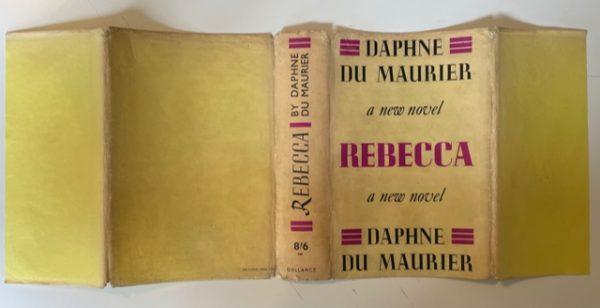 daphne du maurier rebecca first ed4