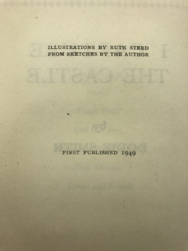 dodie smith i capture the castle first edition2