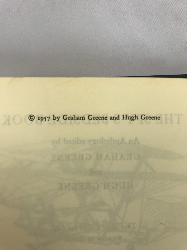 graham greene the spys bedside book first edition2
