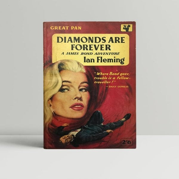 ian fleming diamonds are forever first paperback1