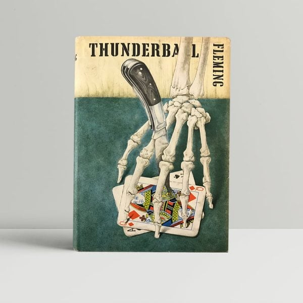ian fleming thunderball first ed1 1