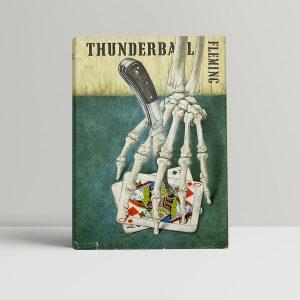 ian fleming thunderball first ed1 2