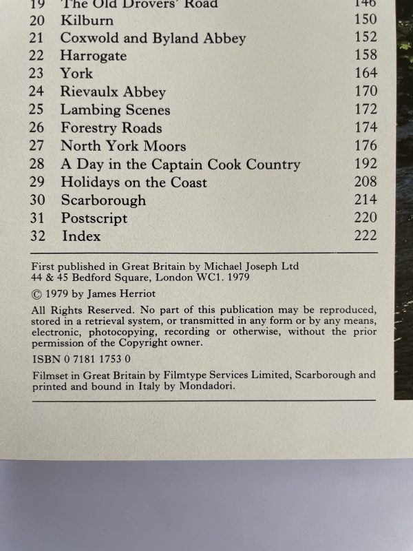 james herriots yorkshire first edition3