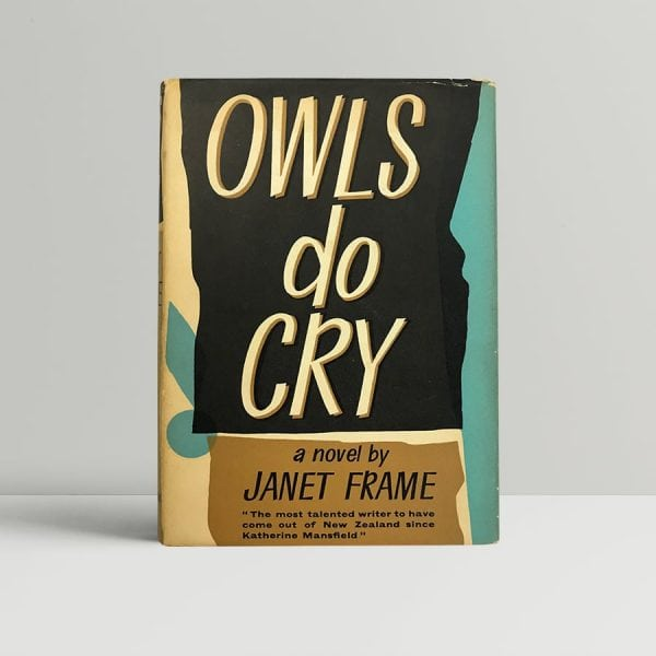 janet frame owls do cry first edition1