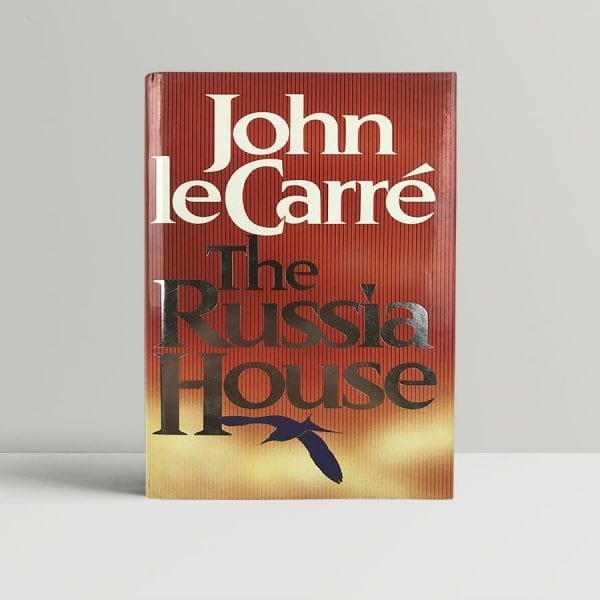 john le carre the russia house signed first edition1