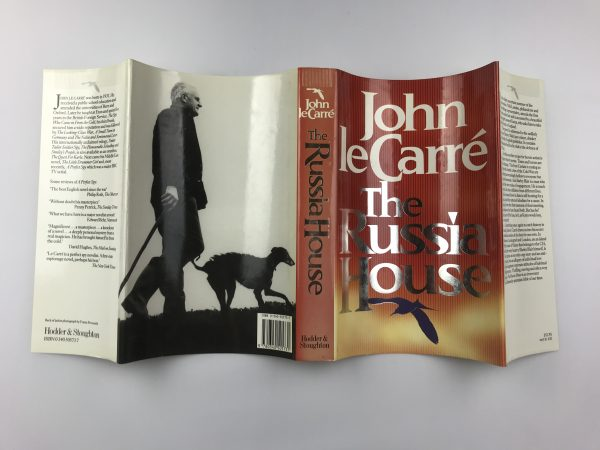 john le carre the russia house signed first edition5