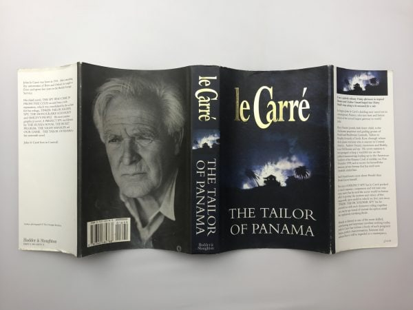john le carre the tailor of panama signed first edition4