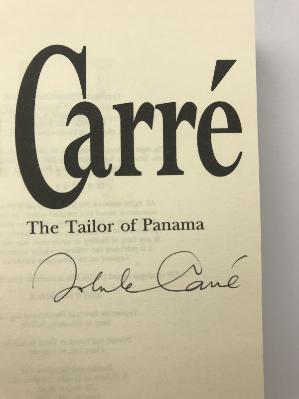 john le carre the tailor of panama signed first edition5