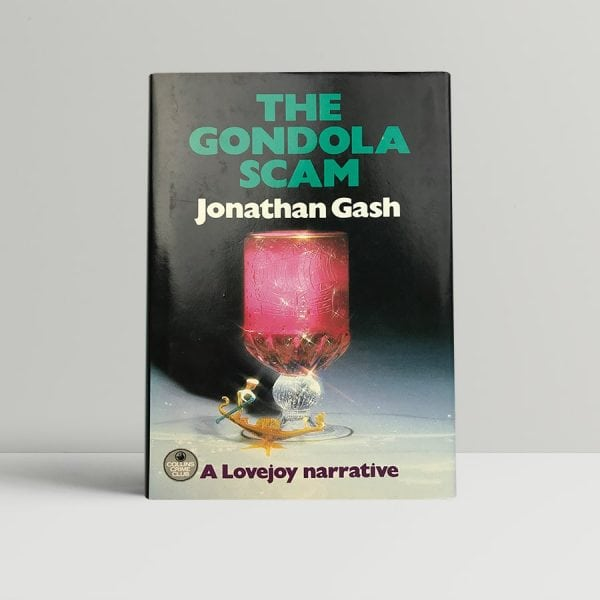 jonathan gash the gondola scam signed first edition1