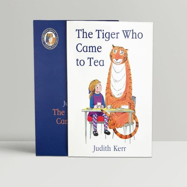 judith kerr the tiger who came to tea signed celebration edition1
