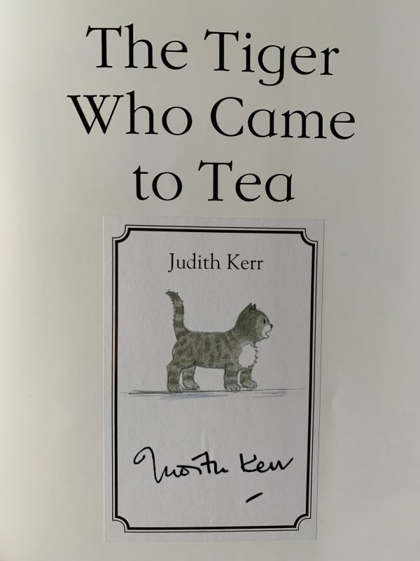 judith kerr the tiger who came to tea signed celebration edition4