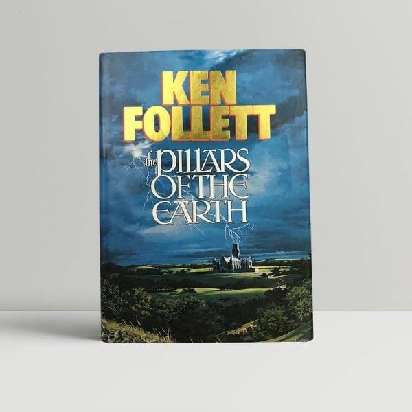ken follett pillars of the earth first edition1