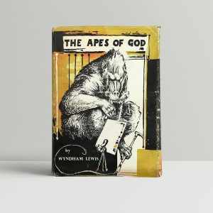 lewis wyndham the apes of god signed limited edition1