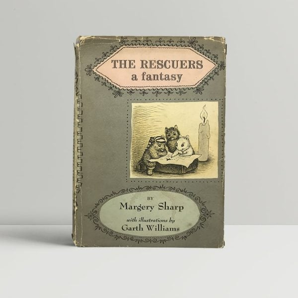 margery sharp the rescuers signed first edition1