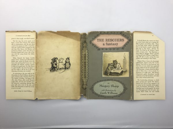 margery sharp the rescuers signed first edition5