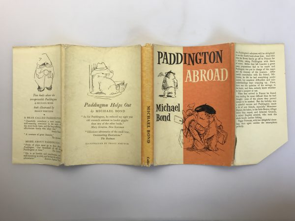 michael bond paddington abroad first edition4