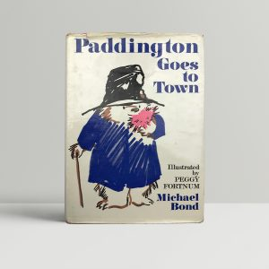 michael bond paddington goes to town first edition1 1