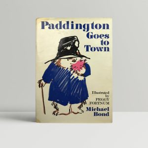 michael bond paddington goes to town first edition1