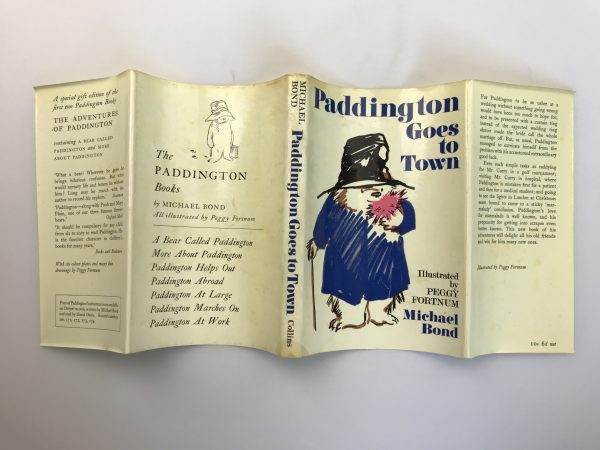 michael bond paddington goes to town first edition4