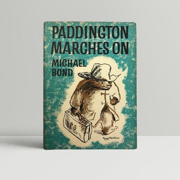 michael bond paddington marches on first edition1