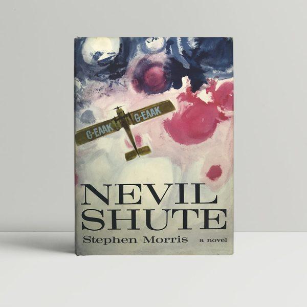 nevil shute stephen morris first edition1