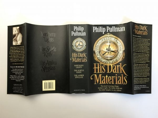 philip pullman his dark materials with letter4