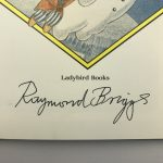 raymond briggs the snowman signed first edition3