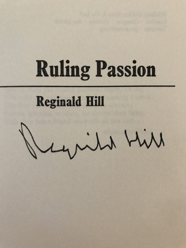 reginald hill signed collection4