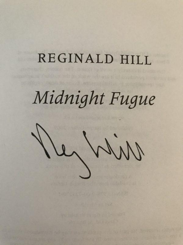 reginald hill signed collection5