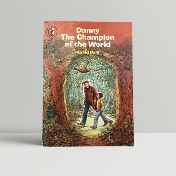 roald dahl danny champion of the world signed paperback1
