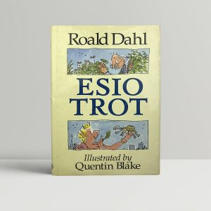 roald dahl esio trot first edition1
