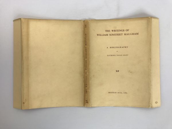 rupert toole the writings of william somerset maugham first edition4