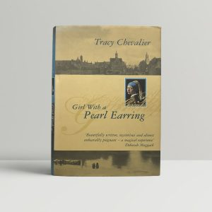tracy chevalier girl with a pearl earring first edition1