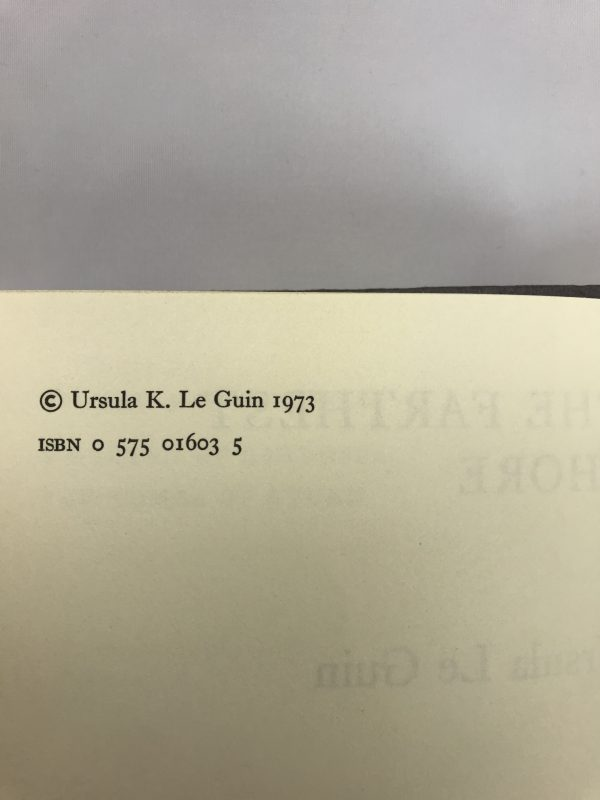 ursula le guin the farthest shore first edition2