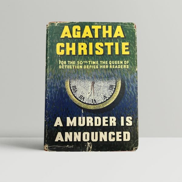 agatha christie a murder is announced first edition1