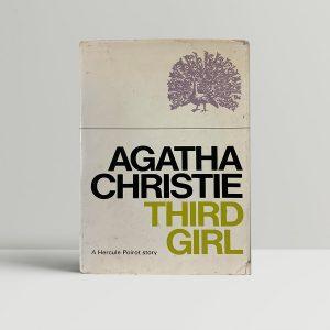 agatha christie third girl first ed1