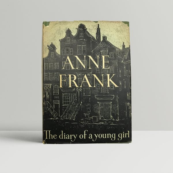 anne frank the diary of a young girl first edition1