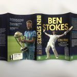 ben stokes on fire signed first edition5