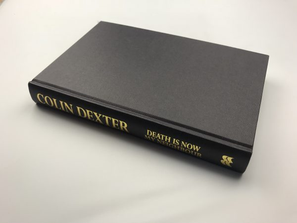 colin dexter death is now my neighbour signed first edition4