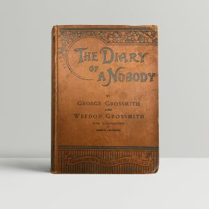 george and weedon grossmith diary of a nobody first edition1