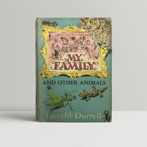 gerald durrell my family and other animals first edition1